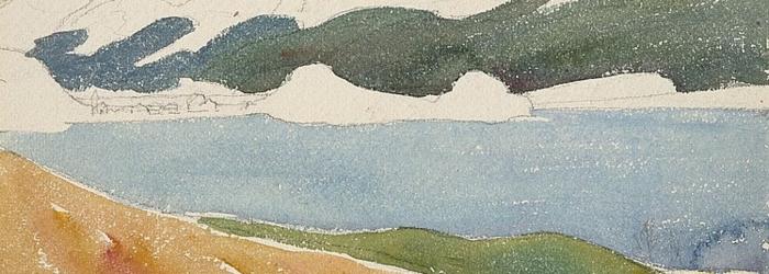 Giovanni Giacometti, «Lac de Maloja (Sils)» DR