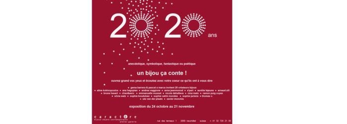 2020 20 ans galerie caractère galerie caractère
