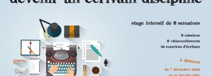 Devenir un écrivain discipline (stage en ligne) L'atelier d'écriture by Christine