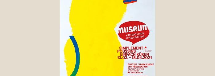 """Une des affiches """"Simplement Poussins"""" Kalkidan / wapico"""