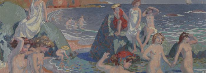 Maurice Denis , Baigneuses (Plage au petit temple), 1906 Musée cantonal des Beaux-Arts de Lausanne