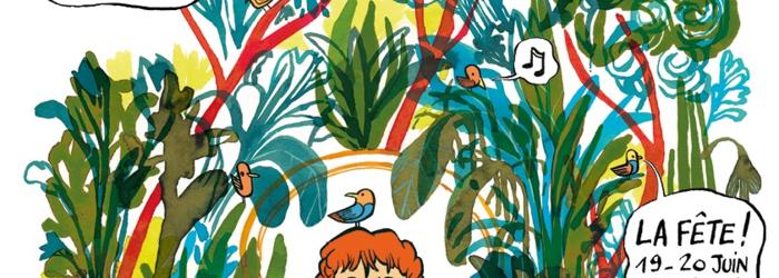 Affiche Delémont'BD Illustration d'Alfred pour Delémont'BD 2021