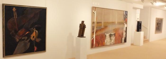 Pierre Skira, Henri Presset, Irving Petlin, Fred Perrin. Ditesheim&Maffei Fine Art