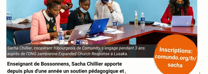 Rencontre avec Sacha Chillier Comundo