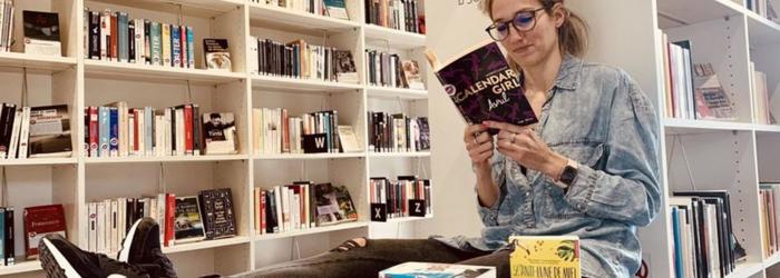 Elodie Ulrich, bibliothécaire et passionnée de littérature New Romance