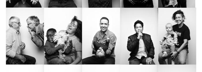 Portraits d'hommes et femmes Ville de Genève