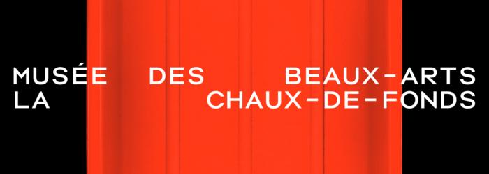 Affiche Musée des beaux-arts de La Chaux-de-Fonds