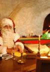 Père Noël aux Rochers-de-Naye