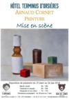 """Arnaud Cornet, Peinture présente """"Mise en scène """""""