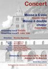 Concert Sobalte et A Vaud Voix