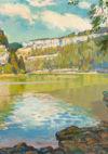 Charles L'Eplattenier, Bassins du Doubs, 1939 © Courtesy Musée des beaux-arts Le Locle