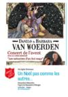 Flyer d'invitation aves les Van Woerden Armée du Salut, Arc lémanique