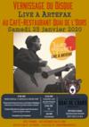 Vernissage du disque Live à Artefax de Julien Pouget - Le Quai de l'Ours