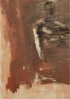 "Miklos Bokor, ""Apparition"", 2009, huile sur toile, 140x90cm Ditesheim&Maffei Fine Art"