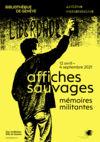 Affiches sauvages Bibliothèque de Genève / AMI